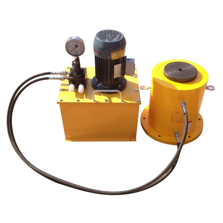 电动分离式液压千斤顶操作规程图片