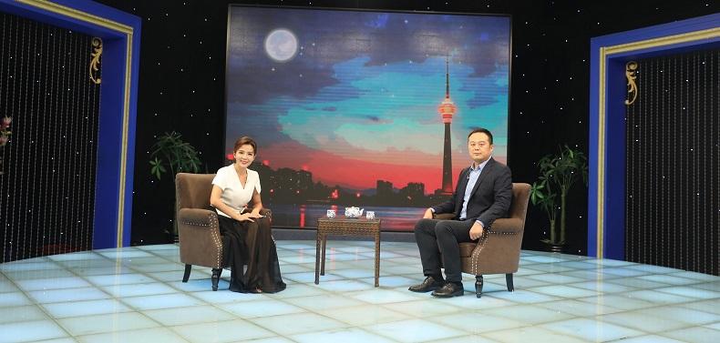 """搜好货CEO胡耀宗赴京参加节目录制  与知名主持一起""""对话新时代"""